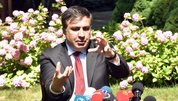 Michail Saakašvili - Sputnik Česká republika