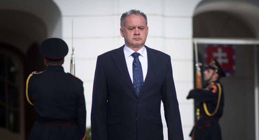 Slovenský premiér Andrej Kiska