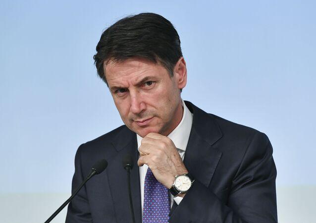 Italský premiér Giuseppe Conte