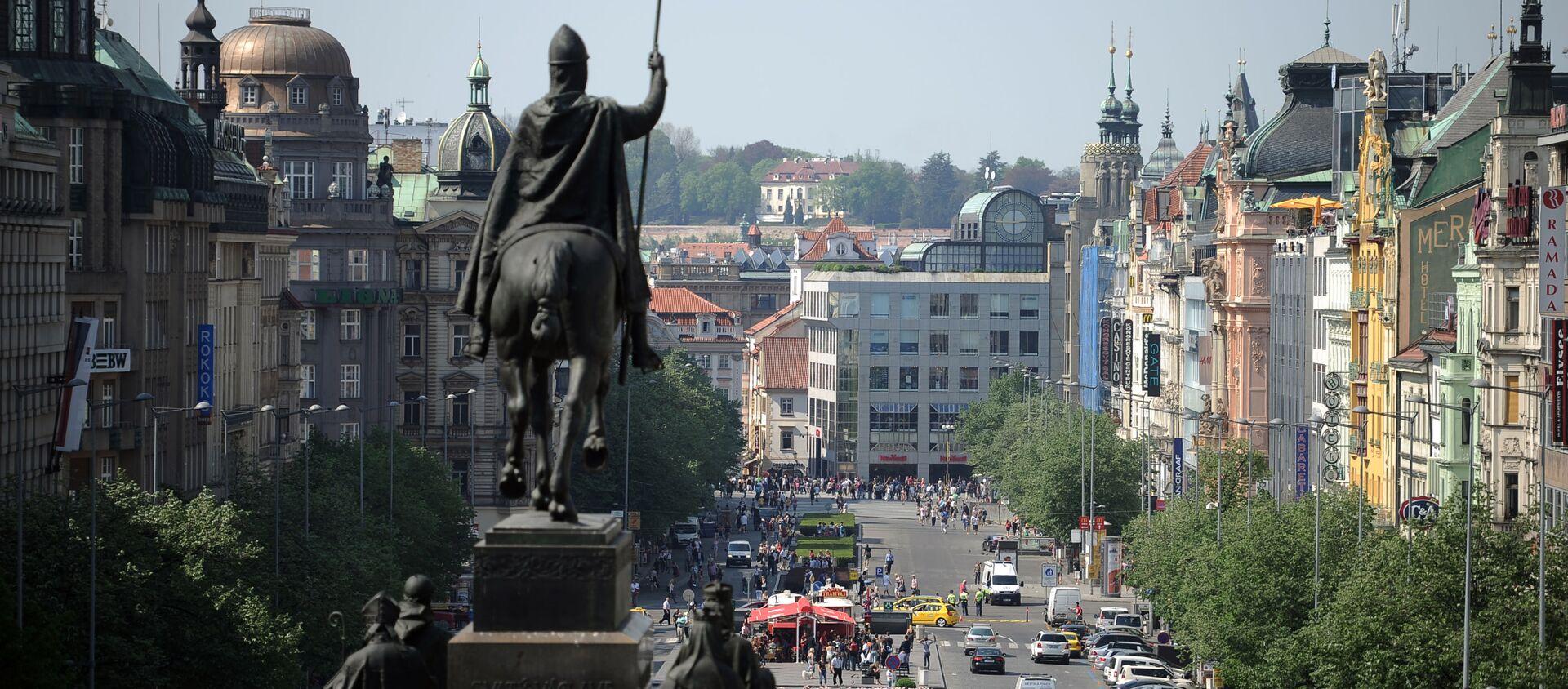 Václavské námětí v Praze - Sputnik Česká republika, 1920, 25.03.2021