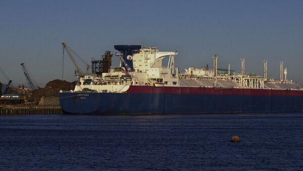 Doprava amerického LNG - Sputnik Česká republika