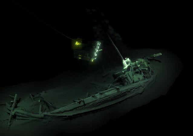 Vrak nejstarší potopené lodi, jejíž stáří se odhaduje na 2400 let