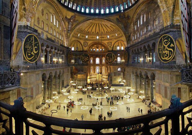 Hagia Sofia, Turecko