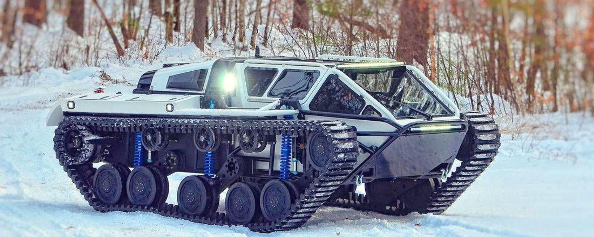 Беспилотный легкий танк Ripsaw EV3-F4 - Sputnik Česká republika, 1920, 06.08.2021