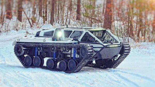 Беспилотный легкий танк Ripsaw EV3-F4 - Sputnik Česká republika