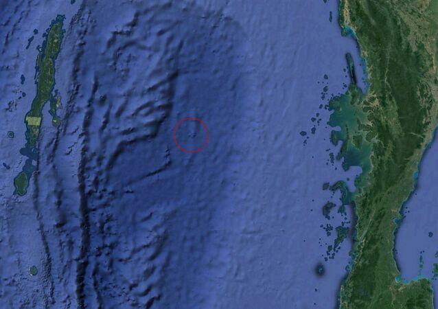 Údajné trosky MH370 na mapách Googlu