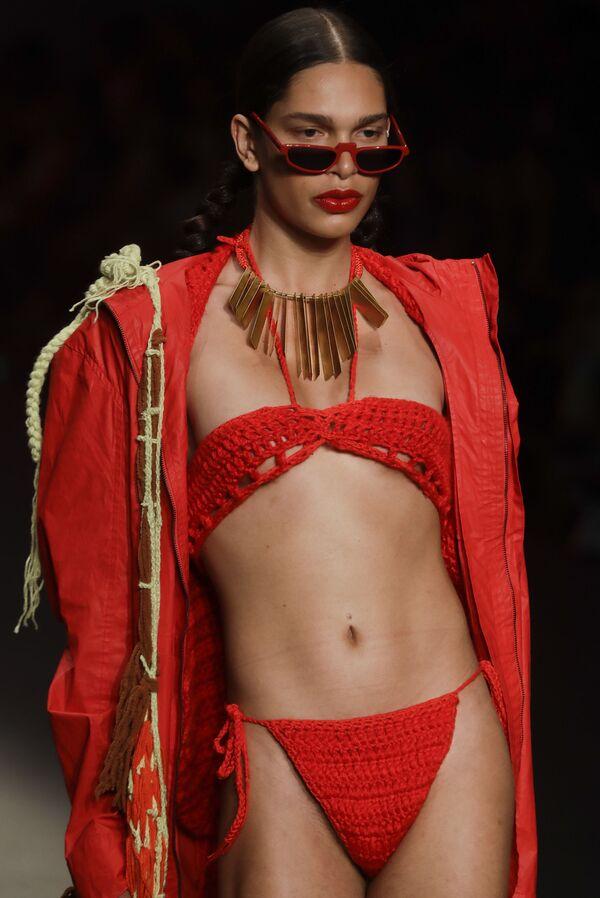 Brazilský týden módy ukázal vášně a drama - Sputnik Česká republika
