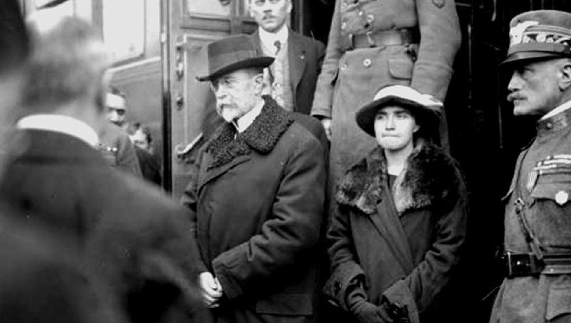 První prezident Československa Tomáš Garrigue Masaryk - Sputnik Česká republika, 1920, 29.03.2021