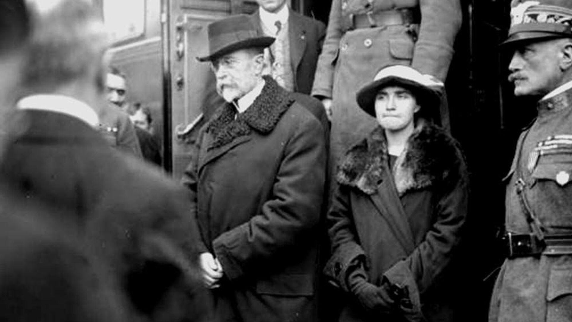 První prezident Československa Tomáš Garrigue Masaryk - Sputnik Česká republika, 1920, 14.09.2021
