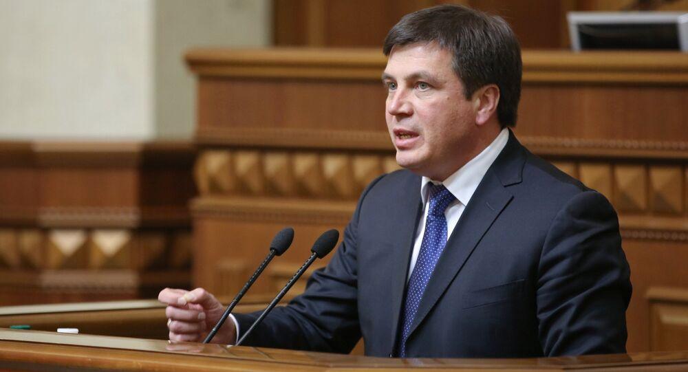 Ukrajinský vicepremiér Hennadyj Zubko