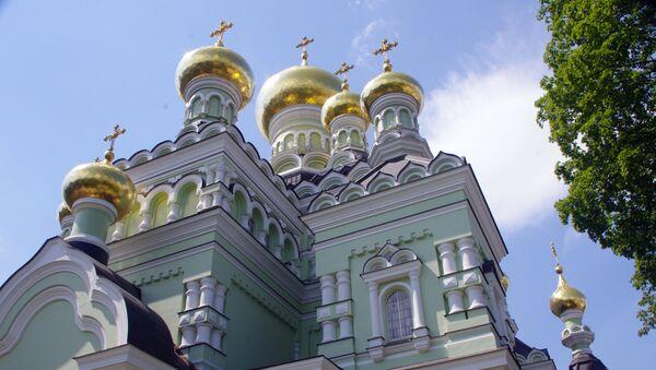 Klášter v Kyjevě. Ilustrační foto - Sputnik Česká republika