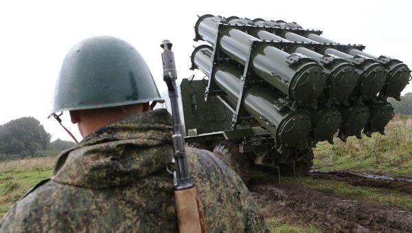 Velké vojenské cvičení Západ 2017 - Sputnik Česká republika