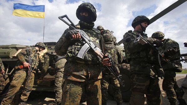 Ukrajinská armáda v Donbassu - Sputnik Česká republika