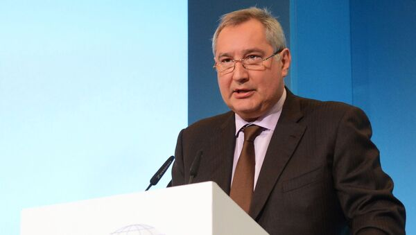 Šéf agentury Roskosmos Dmitrij Rogozin - Sputnik Česká republika