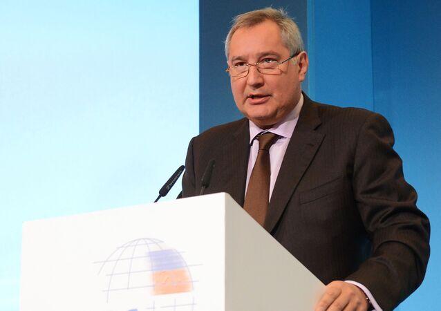 Šéf agentury Roskosmos Dmitrij Rogozin