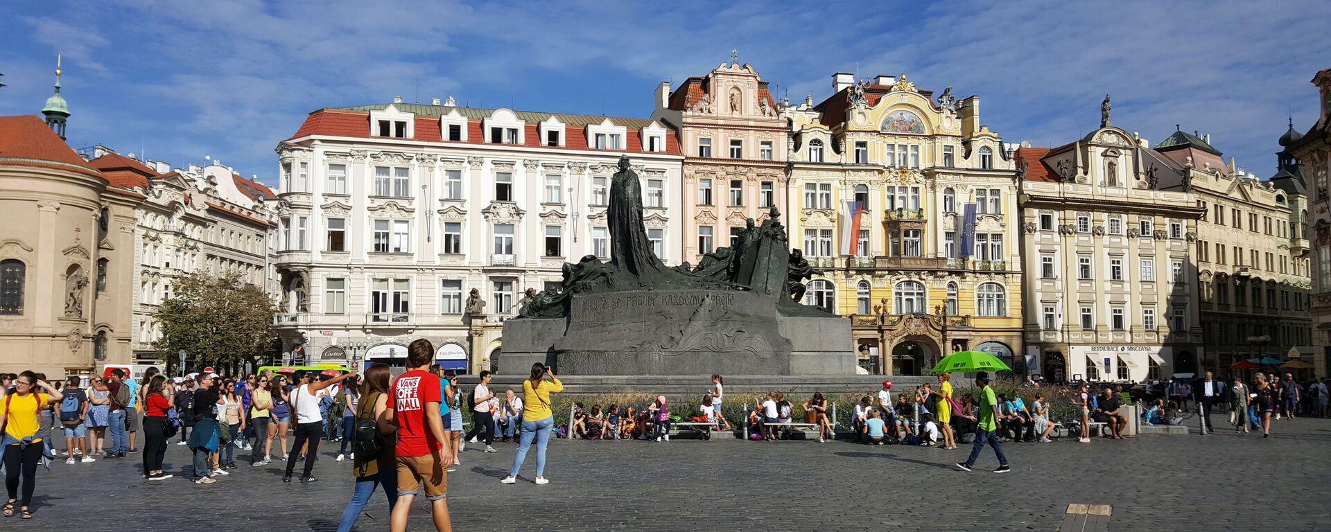 Staroměstské náměstí - Sputnik Česká republika, 1920, 11.05.2021