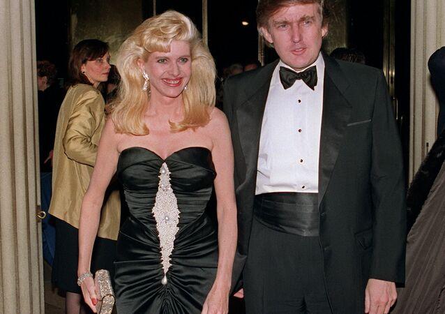 Americký prezident Donald Trump a jeho první žena Ivana