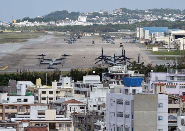 Futenma je letecká základna námořní pěchoty Spojených států amerických ležící na ostrově Okinawa 9,3 kilometru na severovýchod od Nahy.