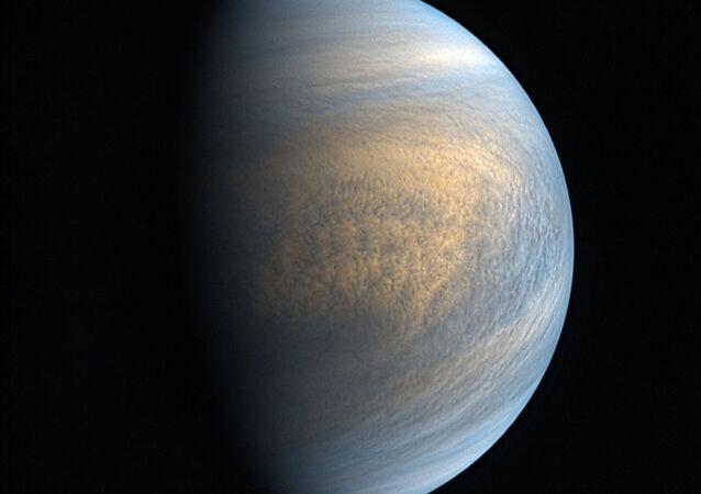 Venuše vyfocena sondou Akacuki