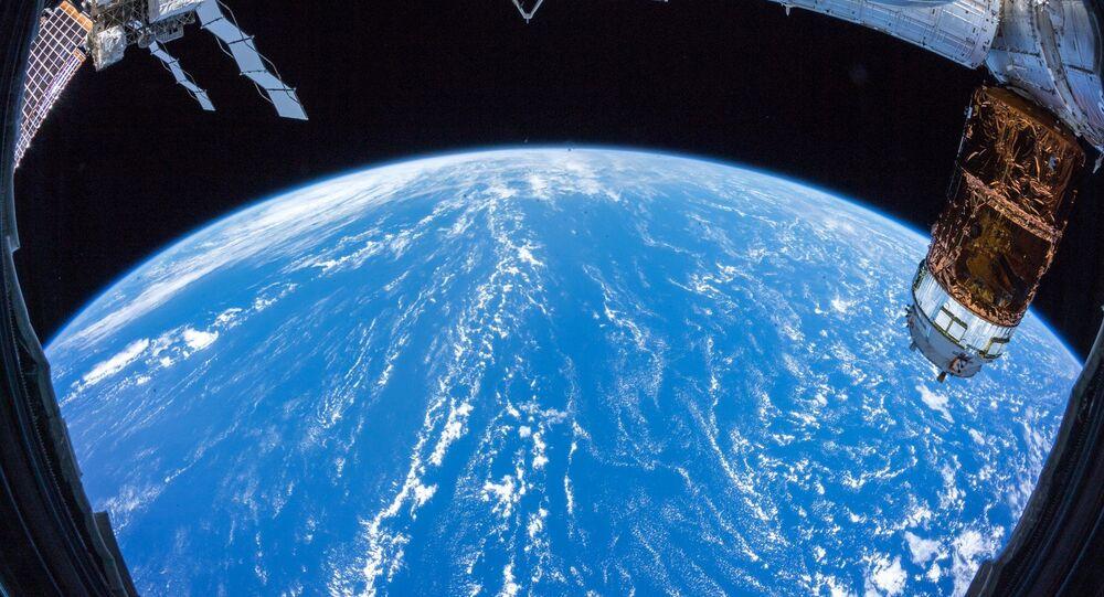 Země z paluby ISS