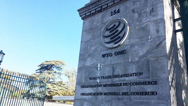Sídlo Světové obchodní organizace (WTO) - Sputnik Česká republika