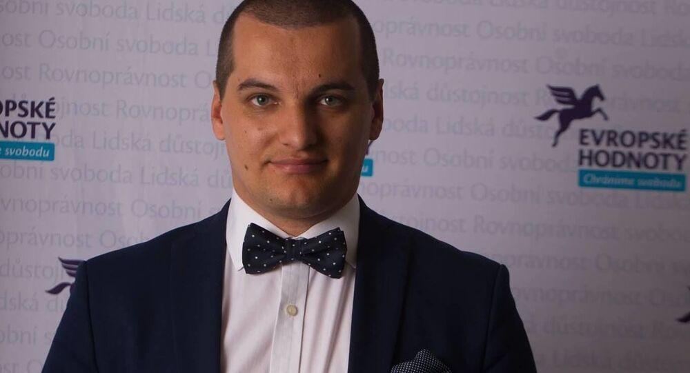 Ředitel nevládní odborné instituce Evropské hodnoty Jakub Janda