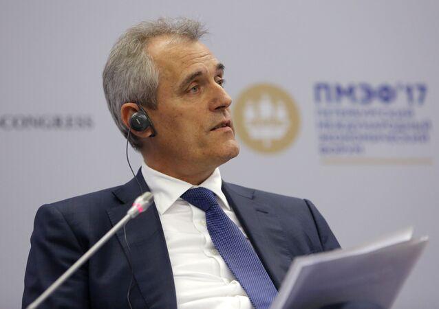 Předseda představenstva OMV AG Rainer Seele
