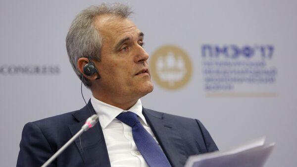 Předseda představenstva OMV AG Rainer Seele - Sputnik Česká republika