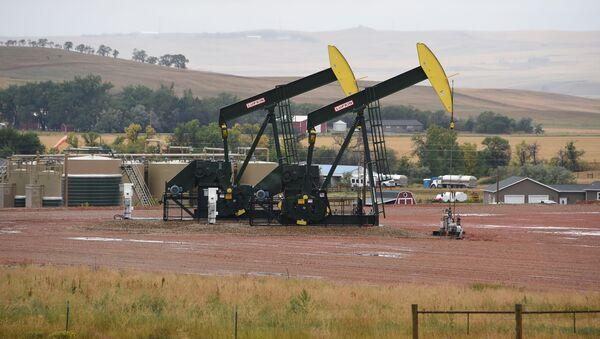 Těžba břidlicové ropy v USA - Sputnik Česká republika