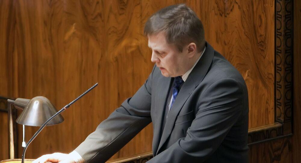 Poslanec finského parlamentu a člen výboru pro obranu Markus Mustajärvi