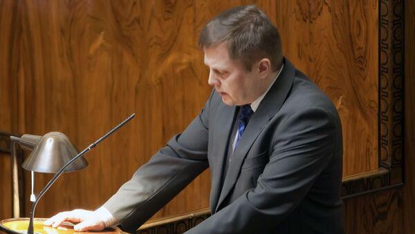 Poslanec finského parlamentu a člen výboru pro obranu Markus Mustajärvi - Sputnik Česká republika