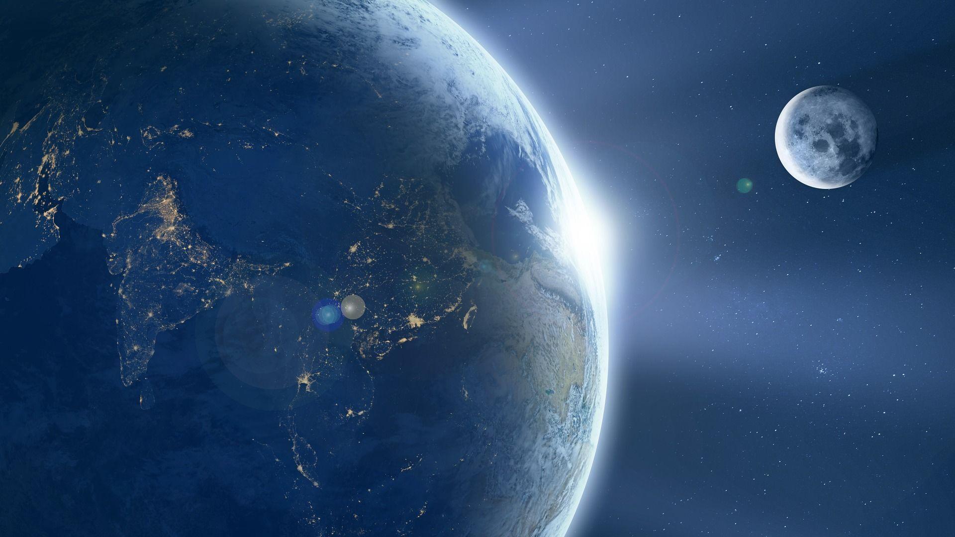 Země a Měsíc - Sputnik Česká republika, 1920, 18.05.2021