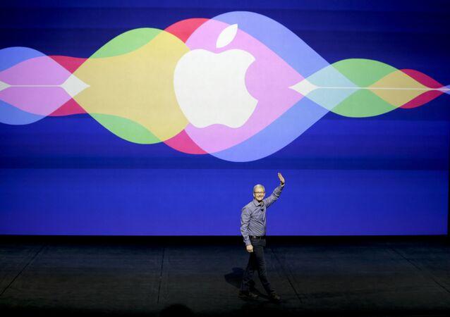 Generální ředitel americké korporace Apple Tim Cook