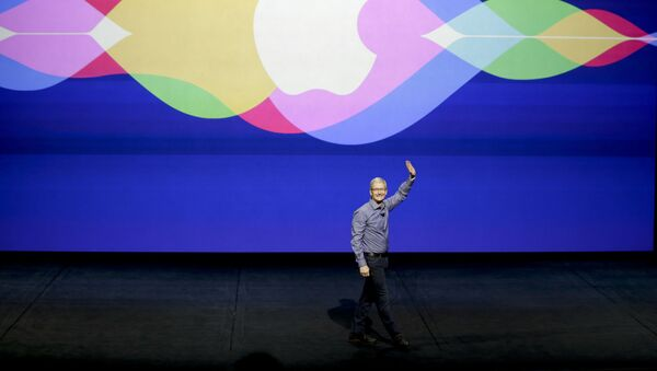 Generální ředitel americké korporace Apple Tim Cook - Sputnik Česká republika
