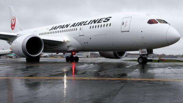 Letoun společnosti Japan Airlines. Ilustrační foto - Sputnik Česká republika