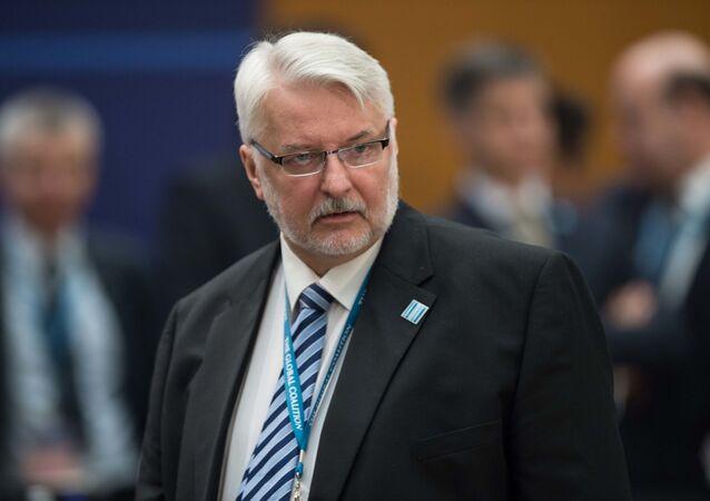 Bývalý polský ministr zahraničí Witold Waszczykowski