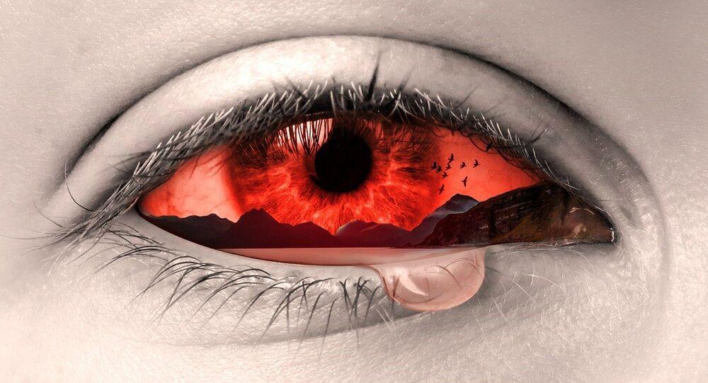 Krvavé oko