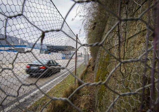 Rakouská hranice. Illustrační foto