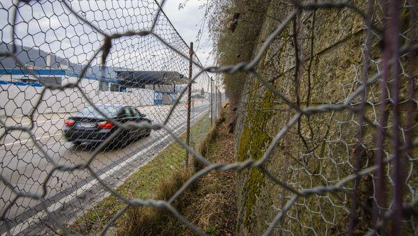 Rakouská hranice. Illustrační foto - Sputnik Česká republika