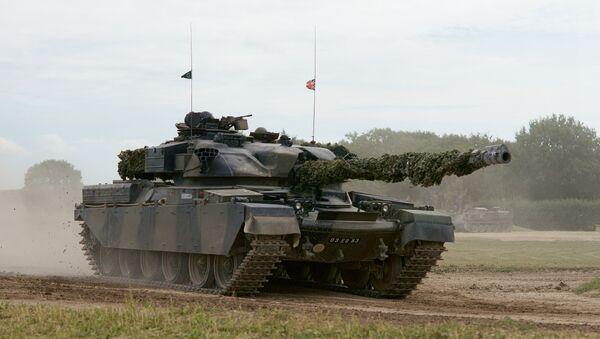 Tank Chieftain - Sputnik Česká republika
