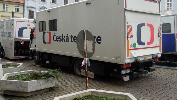 Автомобиль Чешского телевидения  - Sputnik Česká republika