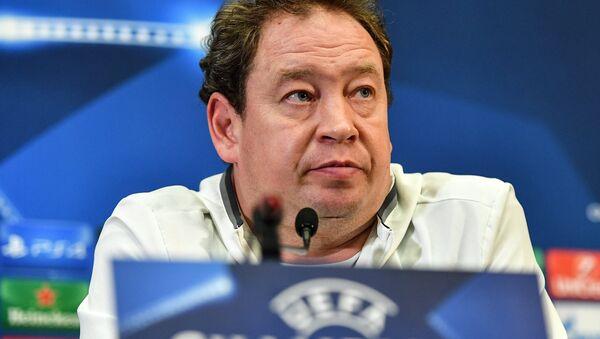 Hlavní trenér holandského fotbalového klubu Vitesse Leonid Sluckij - Sputnik Česká republika