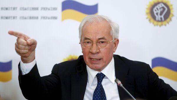 Bývalý ukrajinský premiér Mykola Azarov - Sputnik Česká republika
