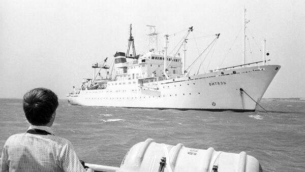 Vědecká expedice na lodi Viťaz - Sputnik Česká republika