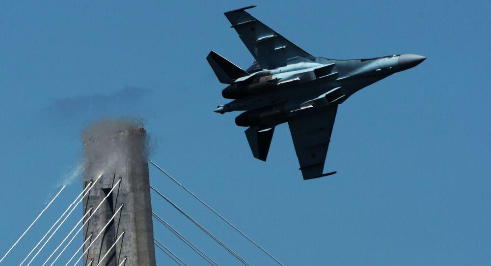 Stíhací letoun Su-35S