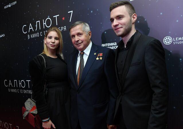 Kosmonaut Viktor Savinych. Archivní foto