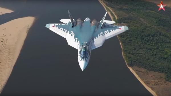 Nové video Su-57 - Sputnik Česká republika