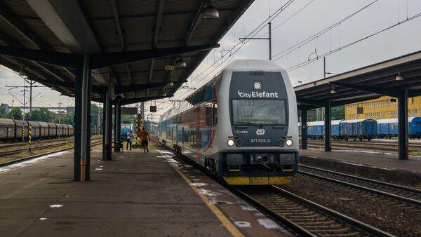 Vlak. Ilustrační foto - Sputnik Česká republika