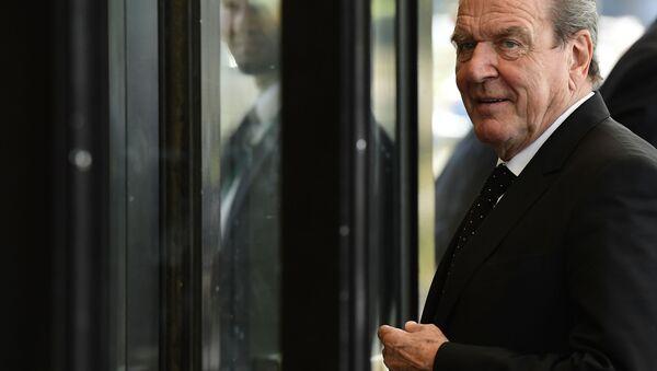 Bývalý německý kancléř Gerhard Schröder - Sputnik Česká republika