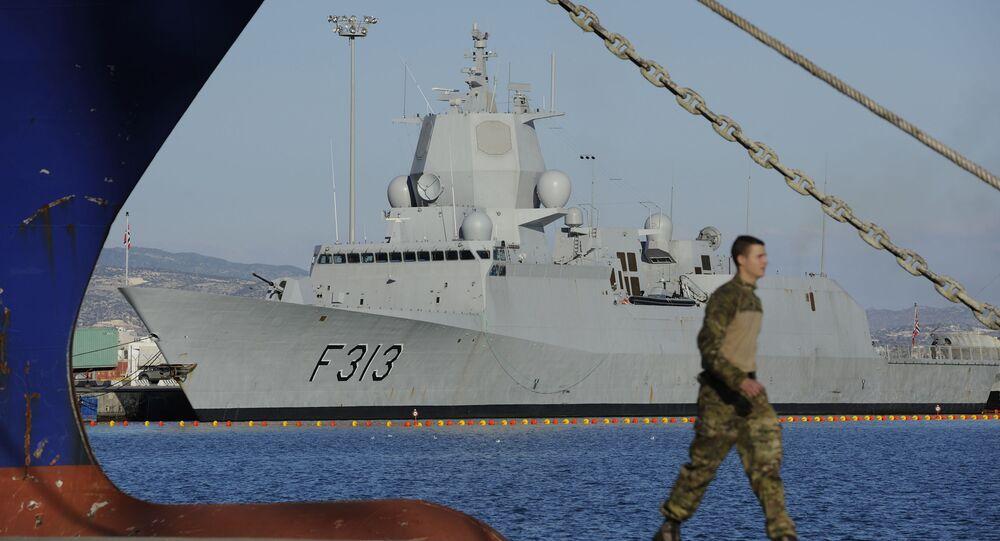 Norská fregata HNOMS Helge Ingstad. Archivní foto